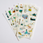 Message in a Bottle Diary Deco Stickers