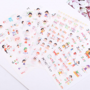 Minzzang Korean Life Diary Deco Stickers