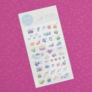 Monet Stone Planet Diary Deco Stickers