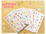 My Little Friend Stickers Special Ver