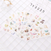 Oriental Beauty Diary Deco Stickers