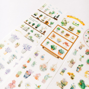 Potted Plant Series Diary Deco Stickers