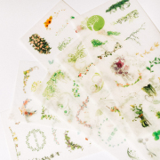 Pure and Fresh Diary Deco Stickers
