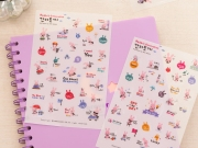 Rabbit Generation Diary Deco Stickers