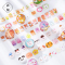 Happy Zoo Assorted Roll Deco Stickers