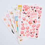 Sakura Pink Diary Deco Stickers
