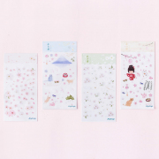 Sakura Season Diary Deco Stickers