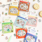 Little Joy Illustration Flake Stickers Set