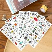StickA Buha Bear Diary Deco Stickers