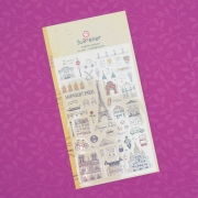 Suatelier Paris Diary Deco Stickers