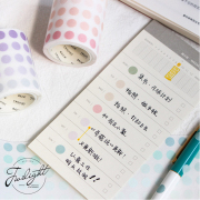 Twilight Pastel Dot Stickers Tape