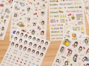 Vanilla Days Diary Deco Stickers