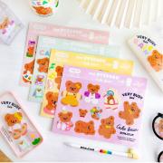 Cake Bear Flake Stickers Set