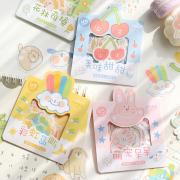 Cocoa Little World Flake Stickers Set