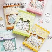 Teeny Cutesy Deco Flake Stickers Set