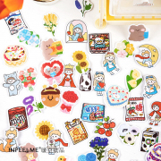 Have a Sweet Dream Flake Stickers Set