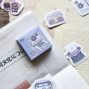 Old Times Memory Flake Stickers Set