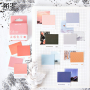 Pantone Colour Chart Flake Stickers Set