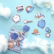 Yunbaa Cloud Sheep Flake Sticker Set