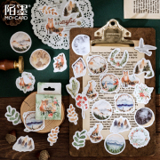 Forest Whisper Flake Stickers Set