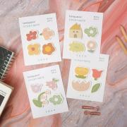 Honey Flower Language Sticky Notes Set