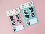 Black Cat Sticky Notes