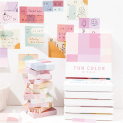 Abstract Concept Sticky Notes Box Set