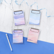 Glorious Sunset Mini Clipboard Sticky Notes