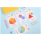 Colorful Geometric Shapes Sticky Notes
