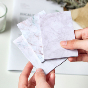 Colorful Marble Textures Sticky Notes