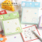 Cute Heart Gummy Grid Sticky Notes