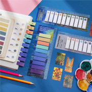 Famous Painting Color Label Sticky Notes