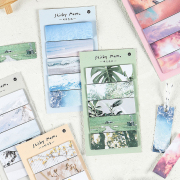 Peaceful Nature Label Sticky Notes