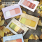 Twelve Color Palettes Label Sticky Notes