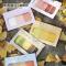 Twelve Color Palettes Label Sticky Notes