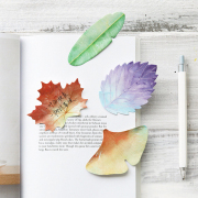 Leaf Collection Sticky Notes