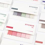 Ribbon Label Sticky Notes