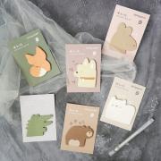 Rolypoly Animal Sticky Notes
