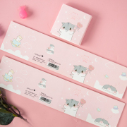Pink Phoebe Sticky Notes Set