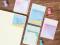 Konnichiwa Square Sticky Notes