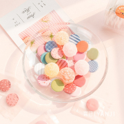 Tiny Candy Style Round Sticky Notes