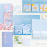 Flower and Cloud Series Sticky Notes Set