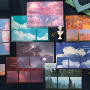 Galaxy and Love Series Sticky Notes Set
