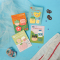 Flavorful Milk Sticky Notes Set