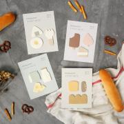 Mini Snack Time Sticky Notes Set