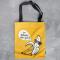 Cool Banana Canvas Tote Bag