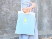 Fruit Day Pear Canvas Tote Bag