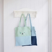 Little Things Canvas Tote Bag