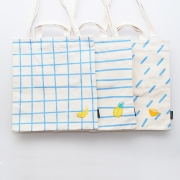 Tropical Sky Canvas Tote Bag
