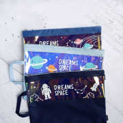 Dreams Space Canvas Tote Folder A4